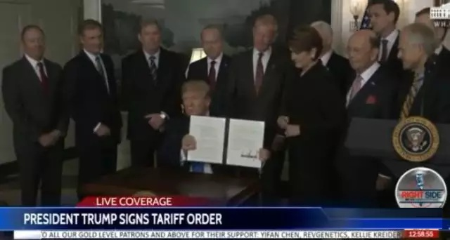 刚刚,特朗普正式祭出核武器,将对500亿美元中国进口商品加征关税!